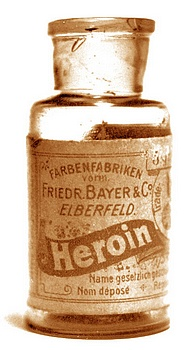 Drogue - Heroïne Bayer (Crédits dog97209, licence Creative Commons)