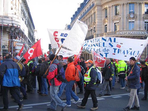 Manifestation CGT à Paris  (CC, Thefunkyman)