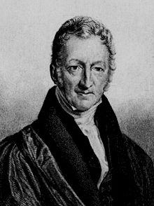 Thomas Malthus (image libre de droits)