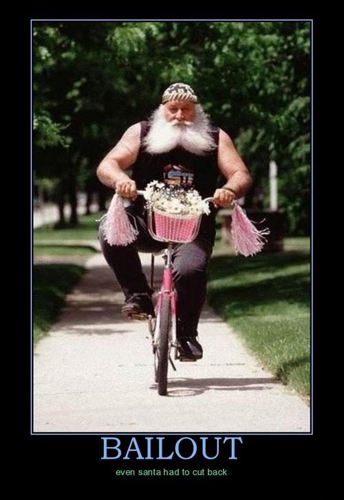 Bail out Santa