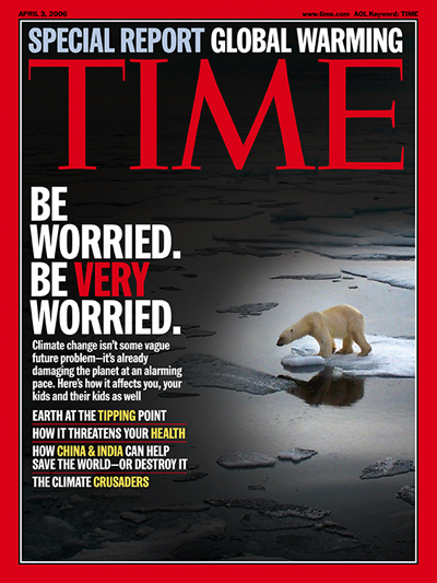 Time Cover / global warming