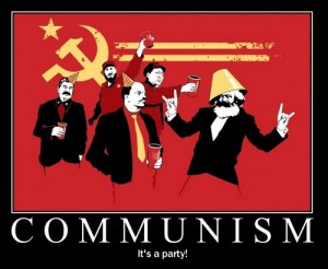 Communism ? It's a party !