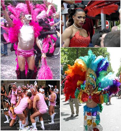 Gay Pride : plumes et poils