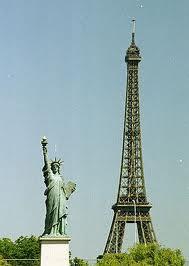 Statue de la Liberté a Paris