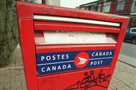 L'avenir de la poste canadienne