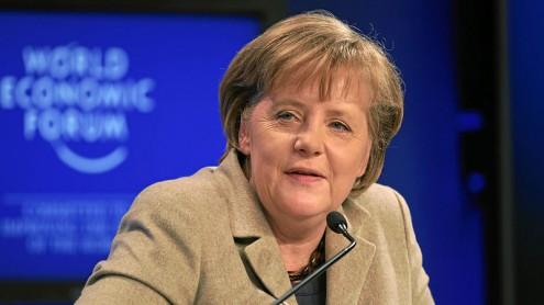 Angela Merkel, appréciée des Français