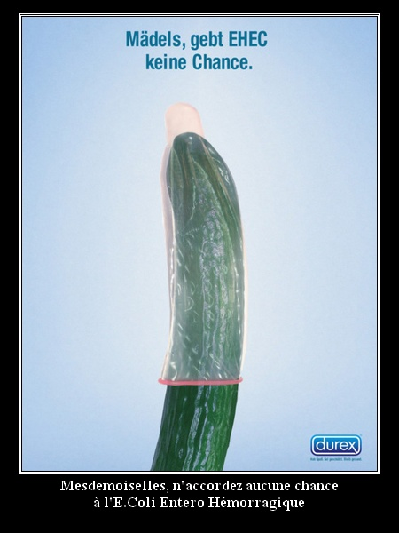 Durex - E.coli entero hemorragique