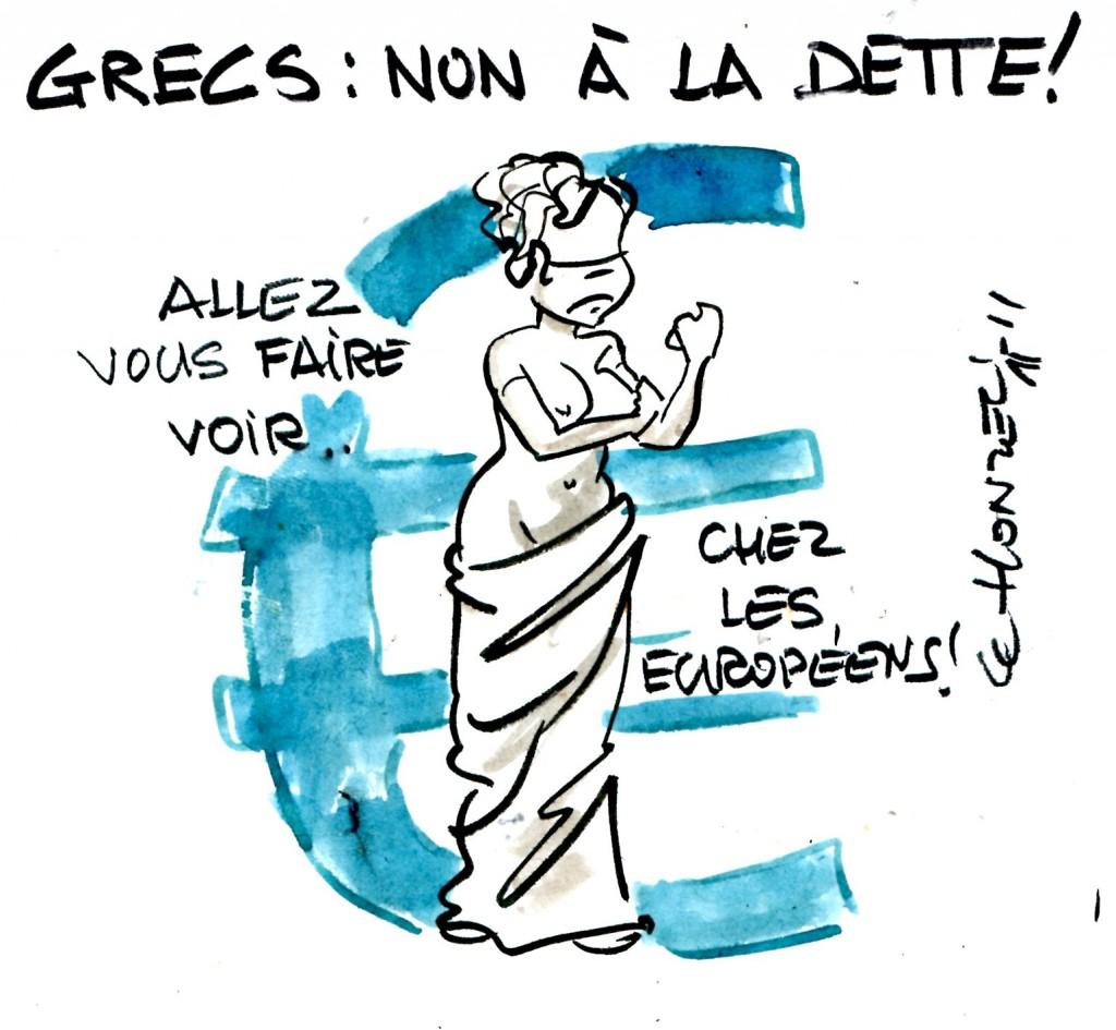 Grèce : nous ne paierons pas !