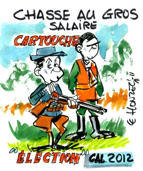 Chasse aux gros salaires, élections 2012