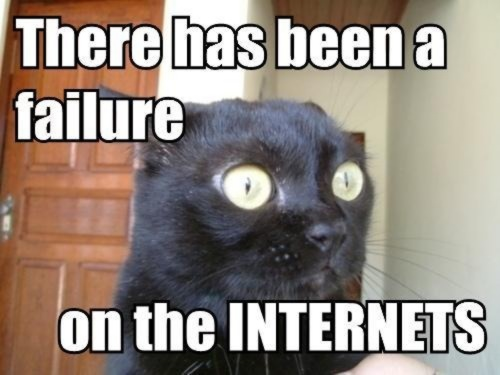 LOLcat Failure on the internets