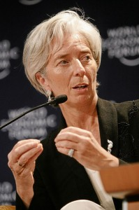 Christine Lagarde en 2007 (CC, World Economic Forum)
