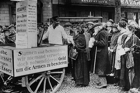 Pauvres en Allemagne dans les années 20