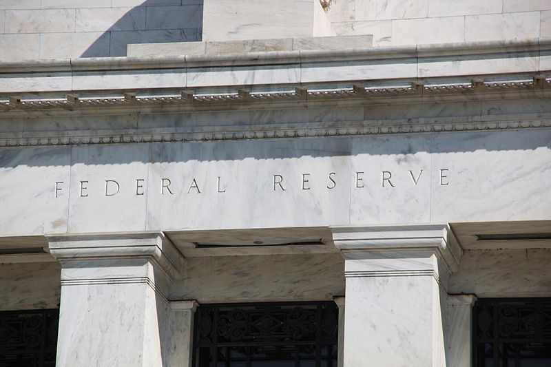 Façade de la Federal Reserve Bank