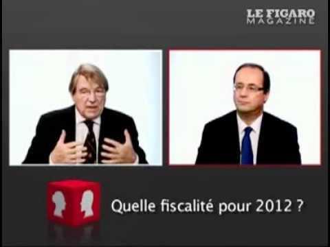 Débat Pascal Salin - François Hollande : la fiscalité, enjeu majeur pour 2012
