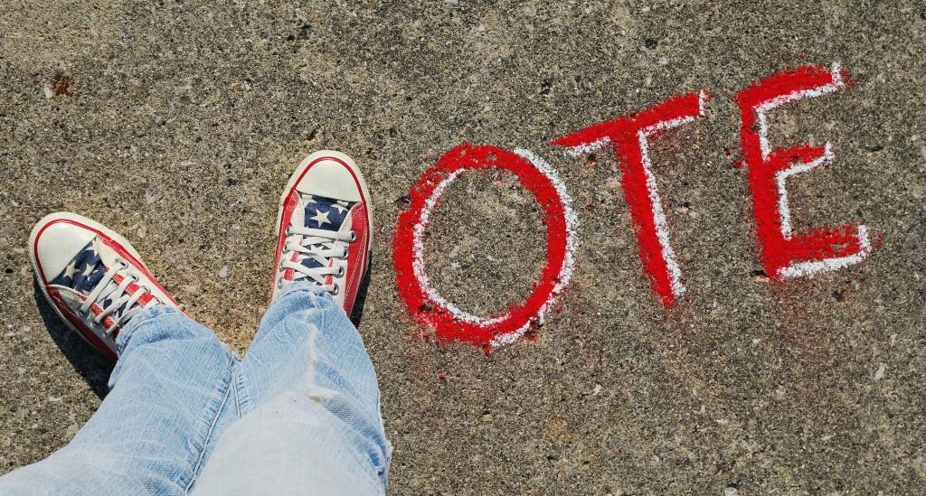 Démocratie Vote Elections (CC, Theresa Thompson)
