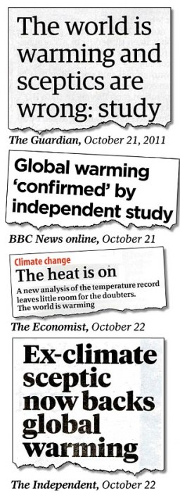 """Nature nie tout lien prouvé entre météos extrêmes et """"réchauffement climatique"""""""