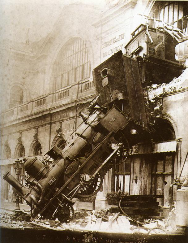 Train_Montparnasse (Image libre de droits)