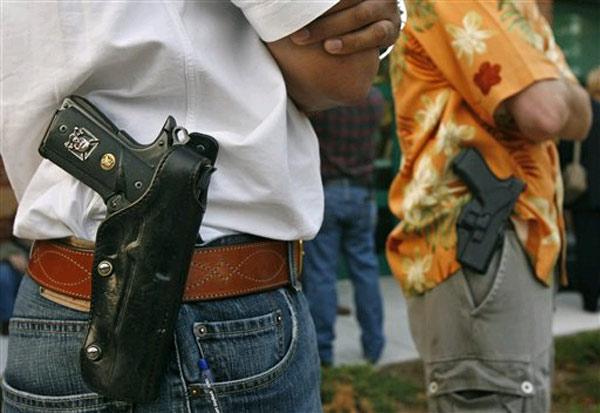 Les libéraux doivent défendre le droit au port d'armes