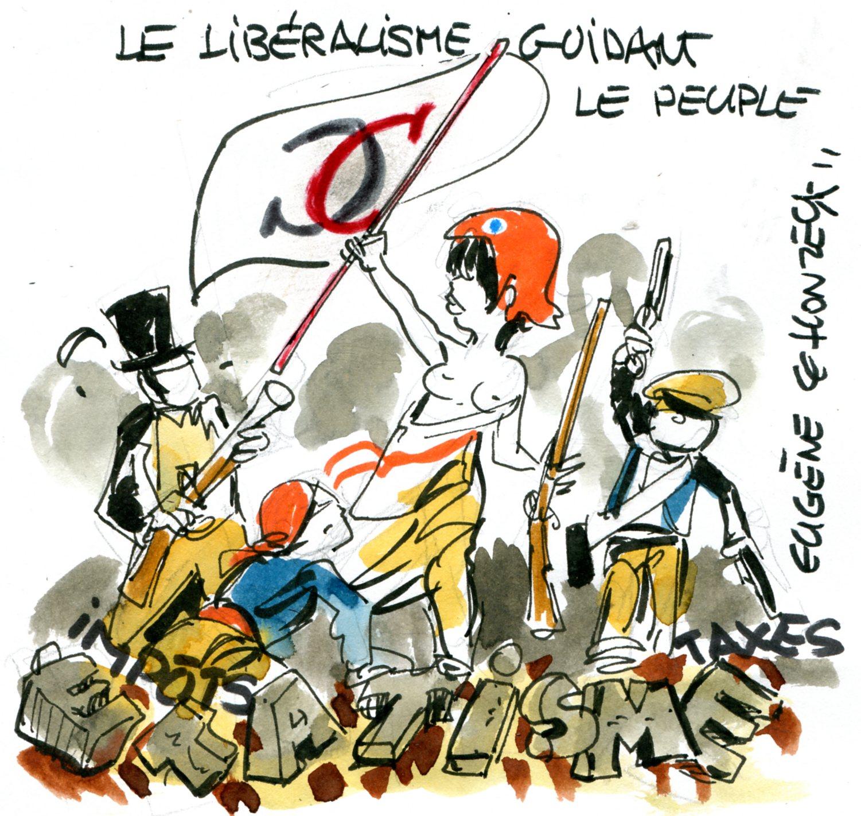 Libéralisme (Crédits : René Le Honzec/Contrepoints.org, licence Creative Commons)
