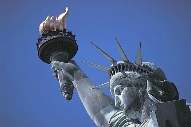 statue-de-la-liberté (image libre de droits)