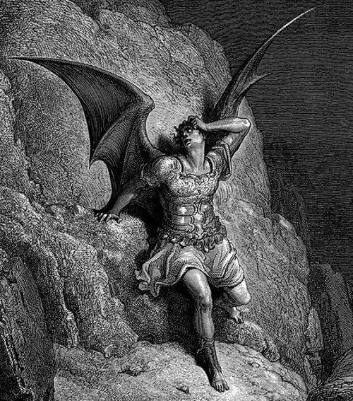 Satan par Gustave Doré