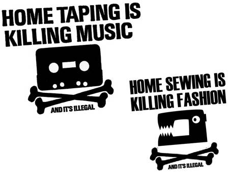 Home taping is killing music, and it's fun.
