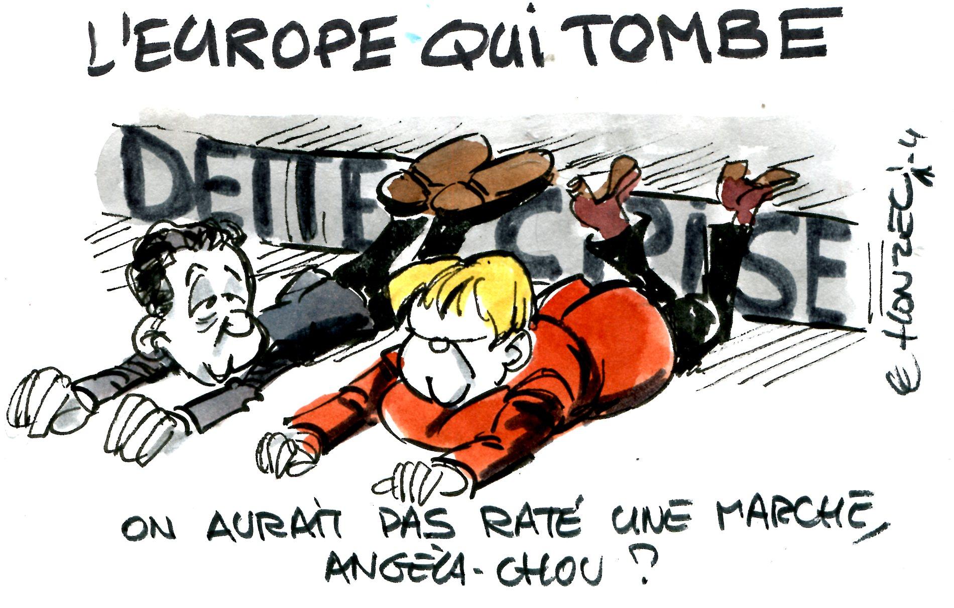 Regarde l'Europe tomber