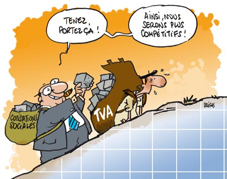 Le crash-test de la TVA sociale