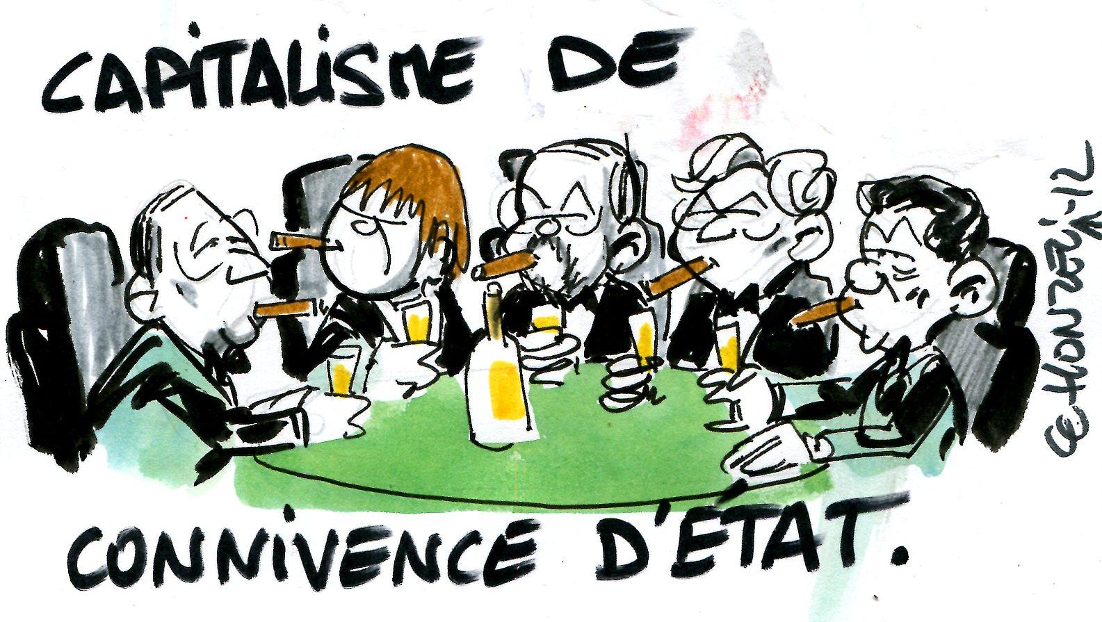 Une France bloquée par le capitalisme de connivence