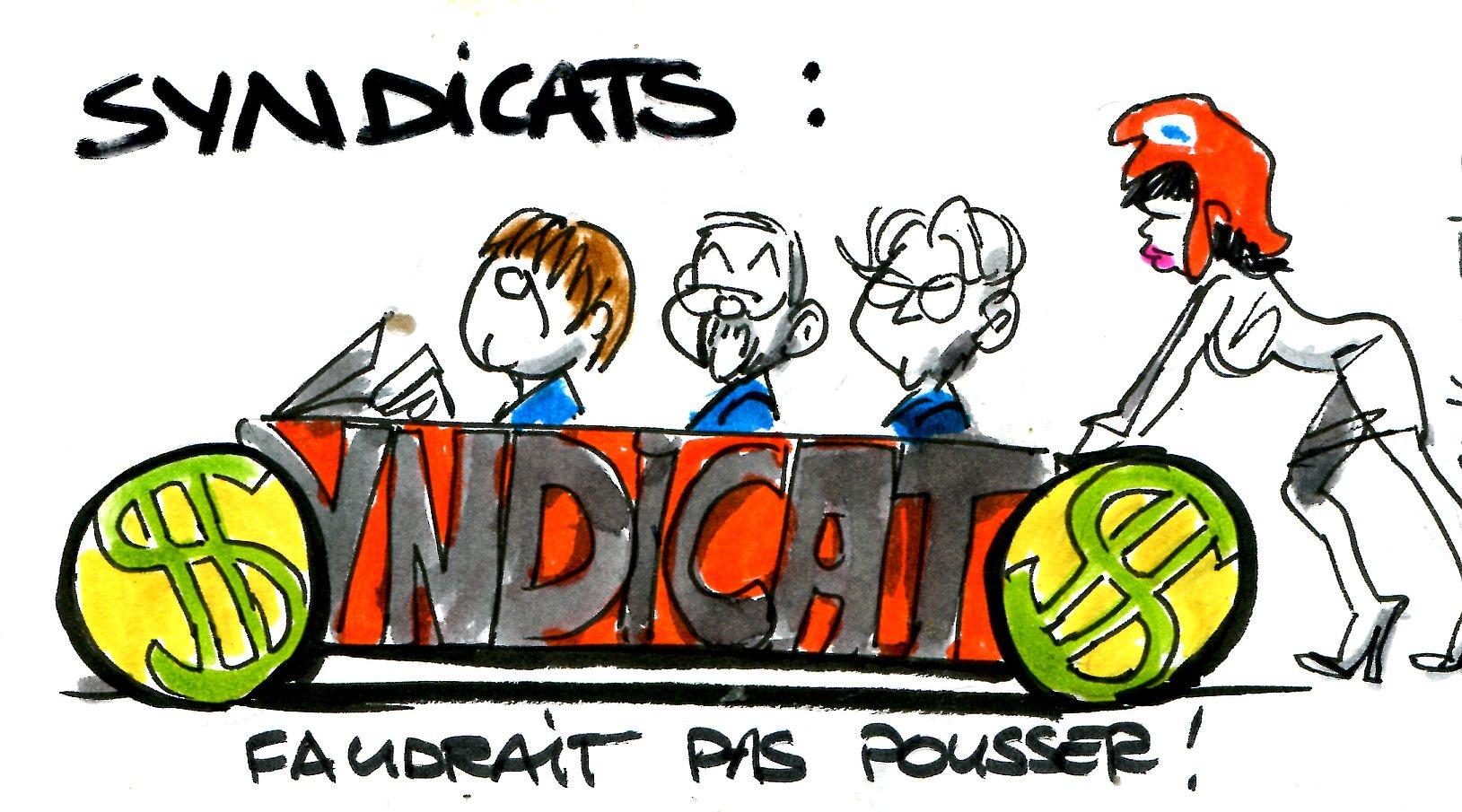 Les syndicats font rayonner la France sans réinventer la roue