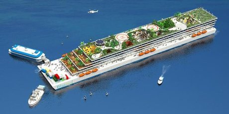 Seasteading platform