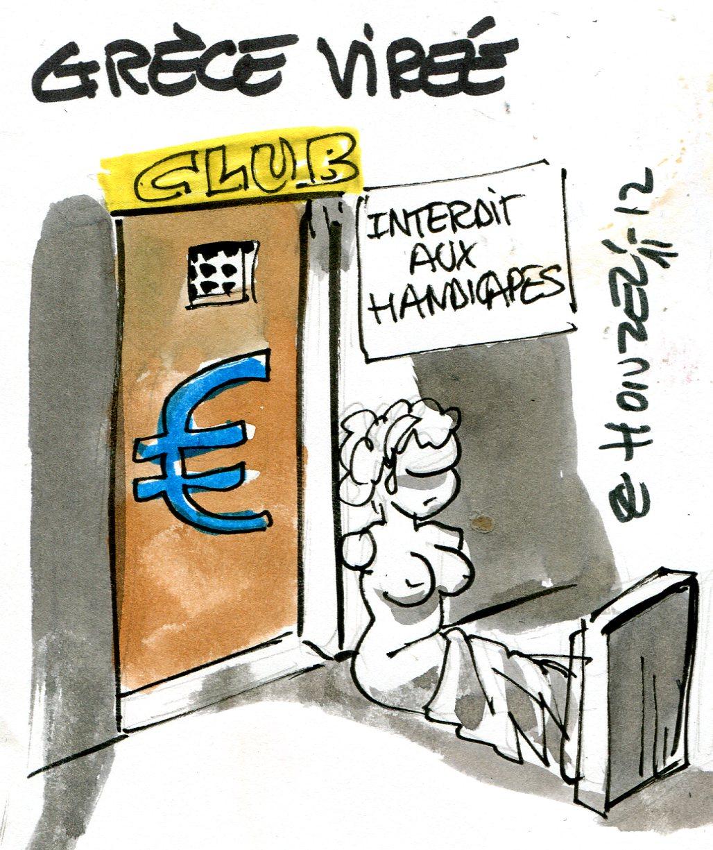 Vers la sortie de la Grèce de la zone euro