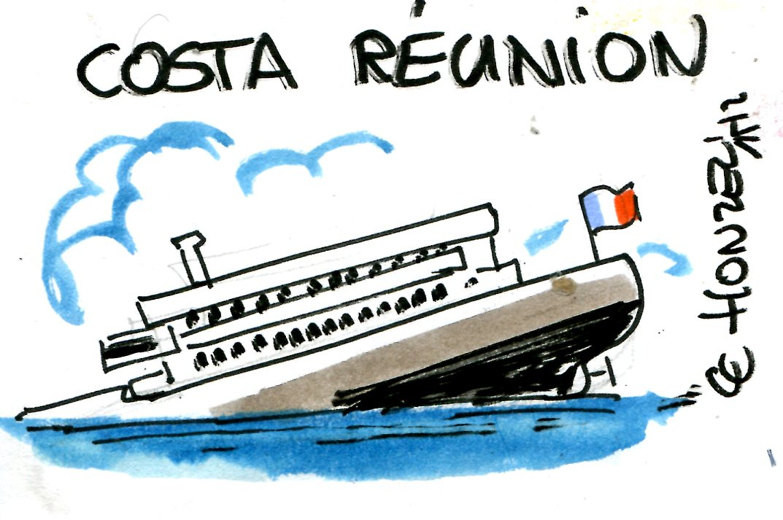 La Réunion régresse, Maurice progresse