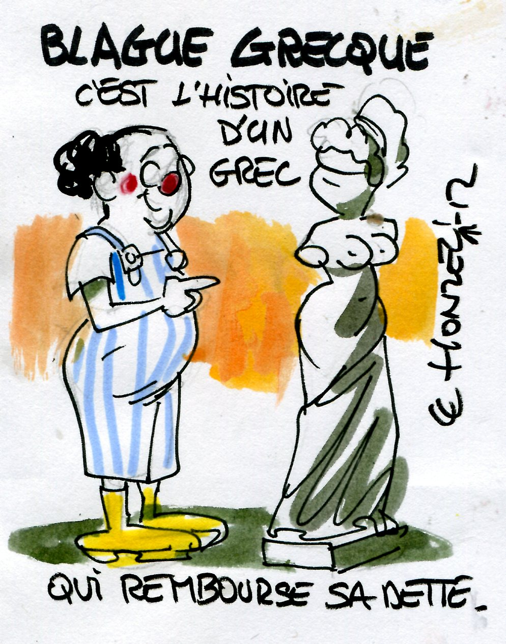 Les r gles budg taires europ ennes une farce grecque for What is farcical
