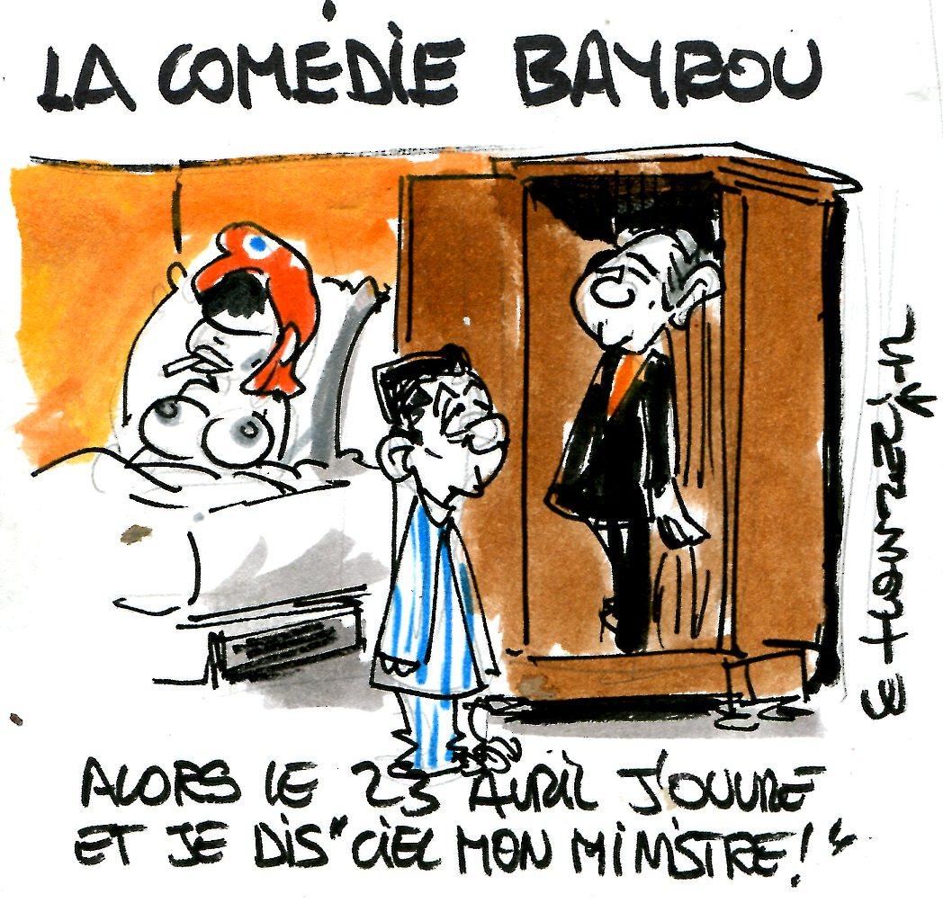 Bayrou, soutien de Sarkozy au second tour?