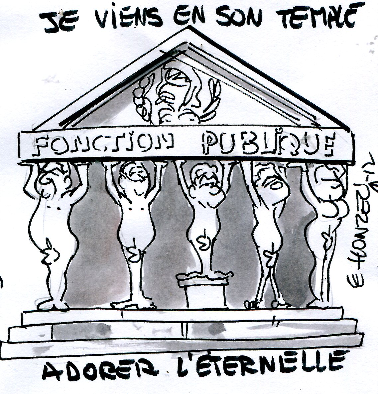 """Résultat de recherche d'images pour """"statut fonctionnaire caricature"""""""