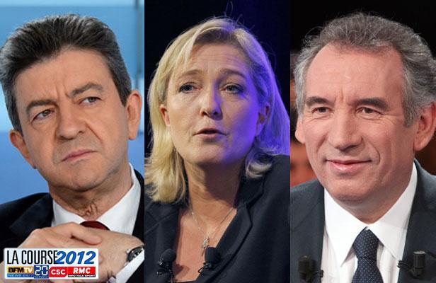 Présidentielle : la course à la 3ème place remportée par Le Pen