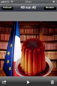 François Hollande vu par Eric Brunet - Flamby à l'Elysée