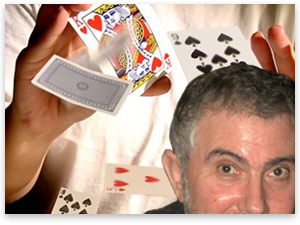 Krugman Contradiction