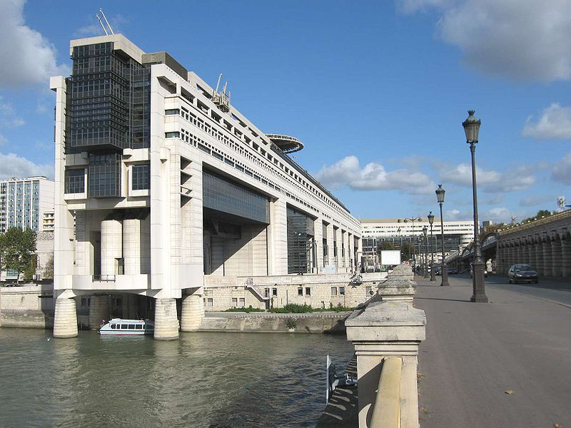 Ministère des Finances à Bercy (Crédits : Pline, licence CC-BY-SA 3.0), via Wikimedia.