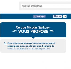 Sarkozy et l'entrepreneuriat