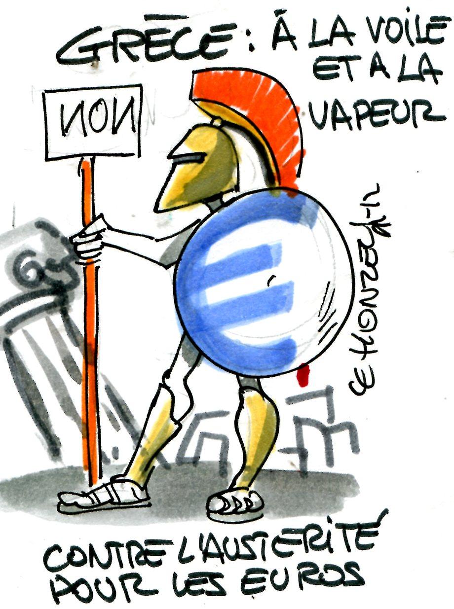Sondage : les Grecs s'en tiennent à leurs mauvais choix