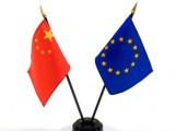 UE Chine flags