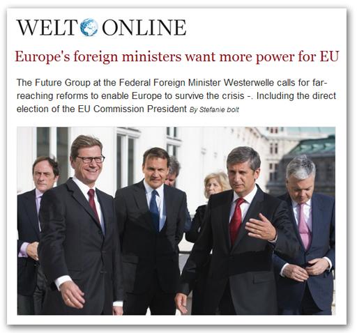 10 pays dessinent les États-Unis d'Europe