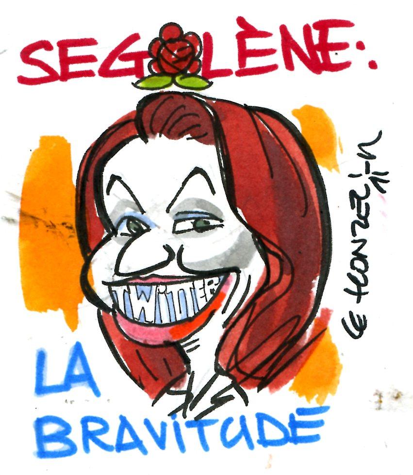 Tweetgate : Ségolène fait preuve de bravitude