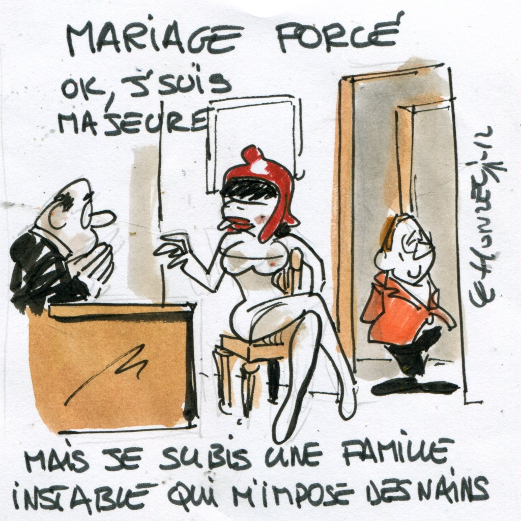 un contrle a priori - Mariage Forc Islam