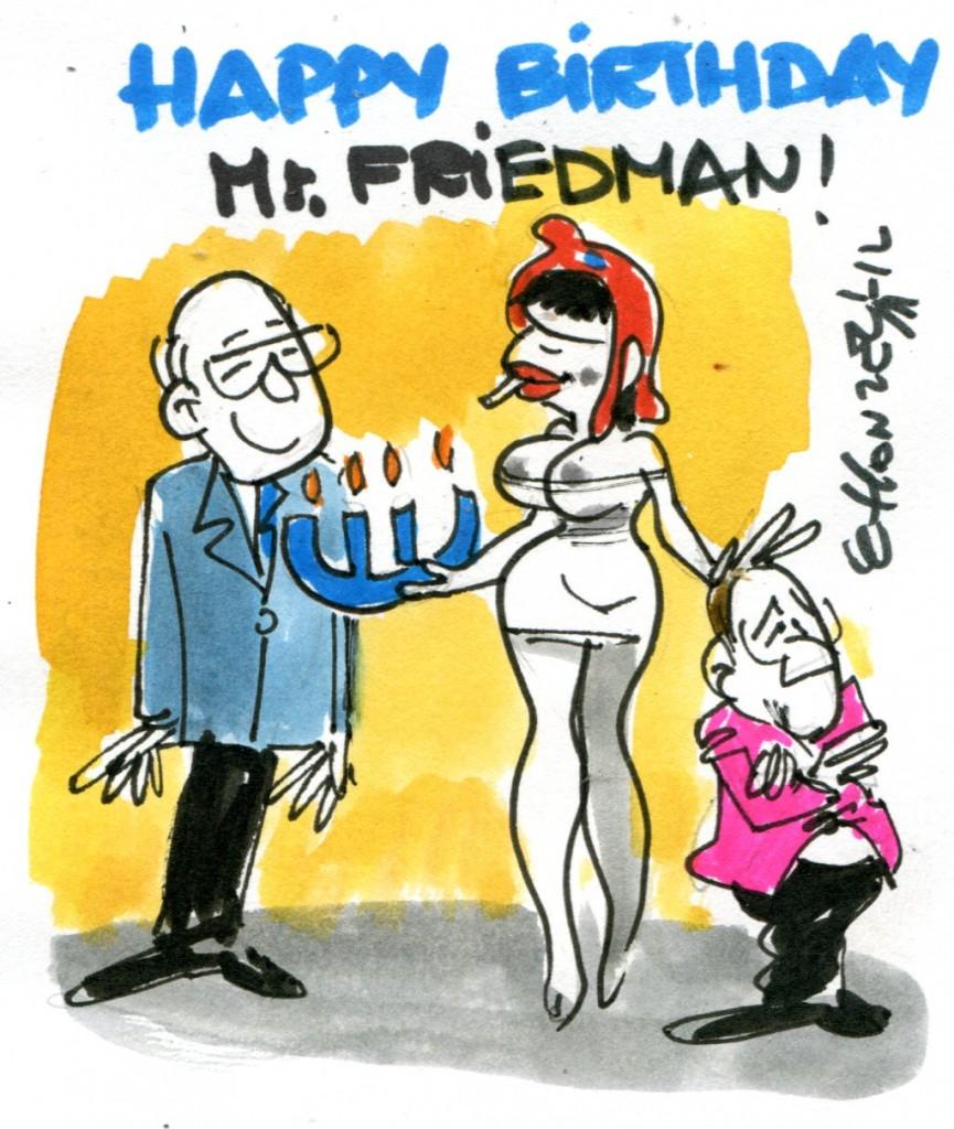100 ans de Milton Friedman