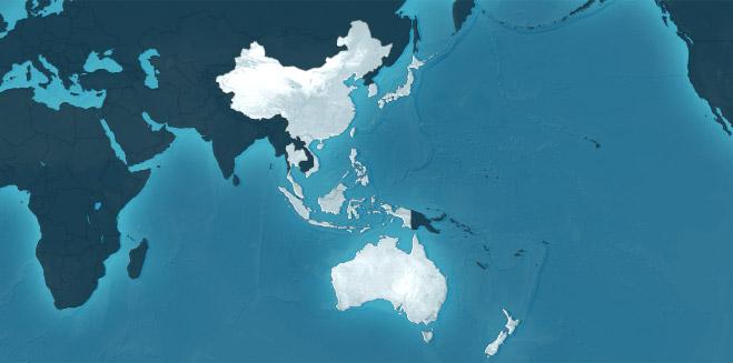 Le déclin de l'Asie