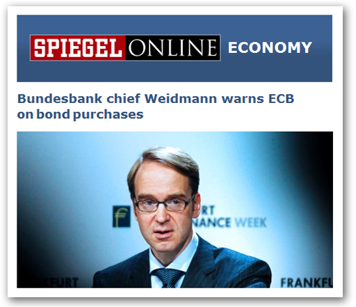 Bundesbank contre BCE, c'est le clash