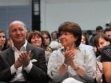 Laurent Fabius et Martine Aubry (crédits : Mathieu Delmestre/Parti Socialiste, licence Creative Commons)